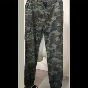 Quicksilver Camouflage Surf Skater Pants